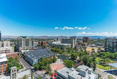 Washoe County Condo/Townhouse For Sale: 100 N Arlington #14D