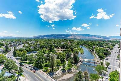 Washoe County Condo/Townhouse For Sale: 100 N Arlington #14E