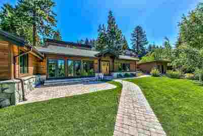 Zephyr Cove Single Family Home Active/Pending-Call: 619 Lakeview Drive
