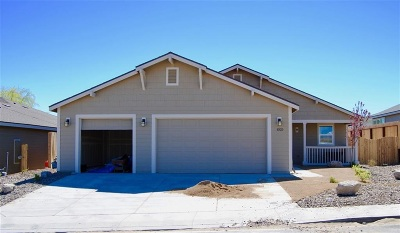 Fernley Single Family Home For Sale: 1025 Emerald Way #Lot 93