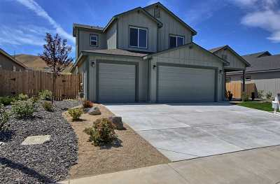 Fernley Single Family Home For Sale: 1797 Canal Drive #Lot 25