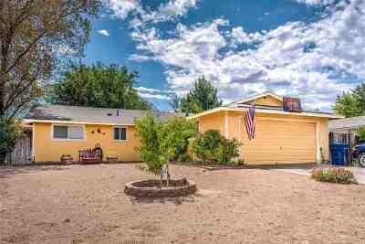 Fernley Single Family Home For Sale: 409 Sierra