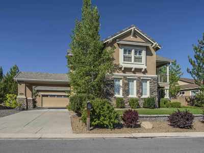 Reno Single Family Home For Sale: 3512 Painted Vista