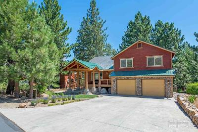 Washoe County Single Family Home For Sale: 20 Sunridge Ct. East