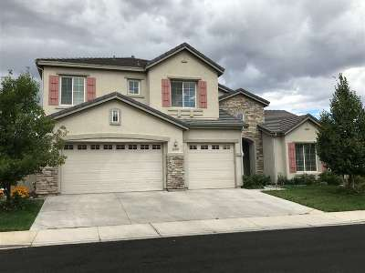Reno Single Family Home For Sale: 10505 Dillingham Drive