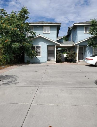 Washoe County Multi Family Home For Sale: 641 Sutro A, B, C