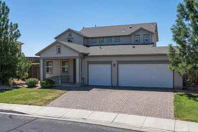 Washoe County Single Family Home Price Reduced: 3443 Weaver Place