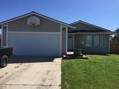Gardnerville Single Family Home Price Reduced: 681 Bluerock