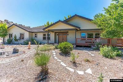 Carson City Single Family Home For Sale: 3667 Lakeview