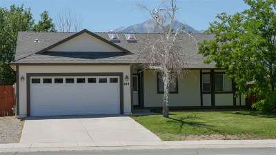 Gardnerville Single Family Home Back On Market: 644 S Bluerock Road