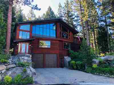 Zephyr Cove NV Single Family Home For Sale: $2,350,000