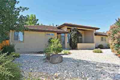 Washoe County Single Family Home For Sale: 20 Ocelet Way