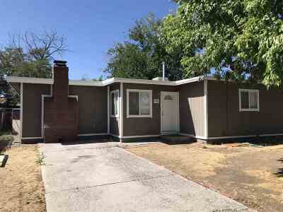 Washoe County Single Family Home For Sale: 1560 Haddock Drive