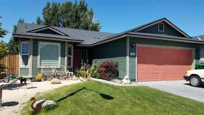 Fernley Single Family Home For Sale: 242 Heather