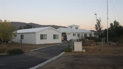 Washoe Valley Single Family Home For Sale: 3270 White Pine