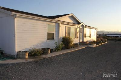 Yerington Manufactured Home For Sale: 535 Us Hwy 95a E