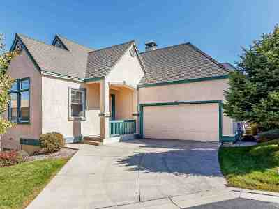 Sparks Single Family Home For Sale: 3522 Mashie Drive