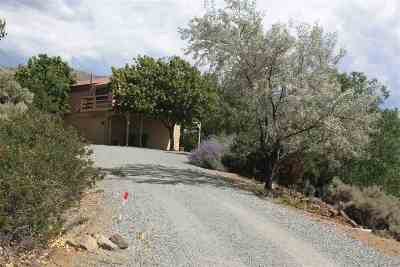 Washoe Valley Single Family Home Active/Pending-Loan: 4655 Eastlake Blvd