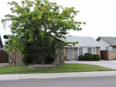 Carson City Single Family Home Active/Pending-Loan: 1259 Rolling Hills