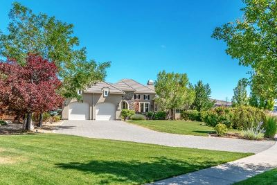 Reno Single Family Home Price Reduced: 8335 Fairway Ridge Court