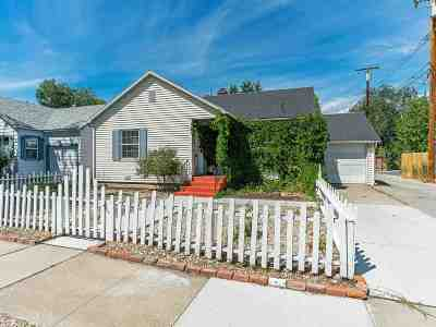 Washoe County Single Family Home For Sale: 1441 Forest Street