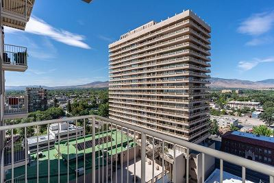 Washoe County Condo/Townhouse For Sale: 200 W 2nd Street #1207