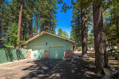 Zephyr Cove Single Family Home For Sale: 1002 Red Fir