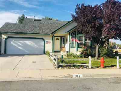 Carson City Single Family Home For Sale: 490 Somerset