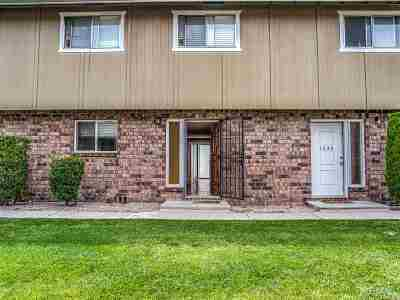 Carson City Condo/Townhouse For Sale: 1333 N Lompa Ln
