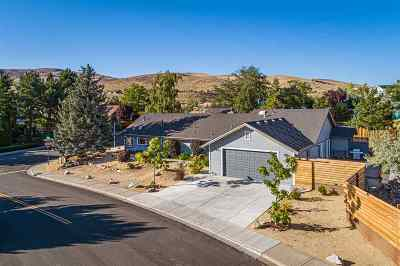 Reno Single Family Home New: 2400 Sierra Highlands Drive
