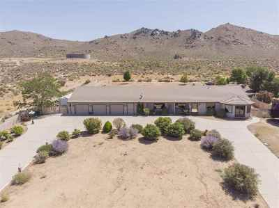 Carson City Single Family Home Active/Pending-House: 3917 Conte Drive
