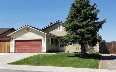 Gardnerville Single Family Home Active/Pending-Call: 1418 Purple Sage Drive
