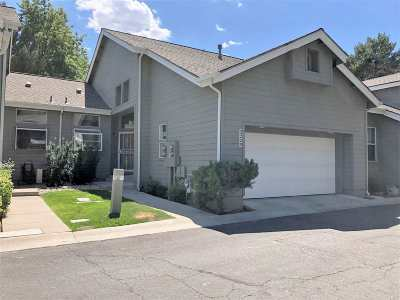 Washoe County Condo/Townhouse For Sale: 3220 Browns Creek