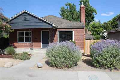 Washoe County Single Family Home For Sale: 1306 S Arlington