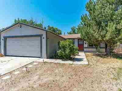Reno Single Family Home Active/Pending-Loan: 12025 Kernite Street