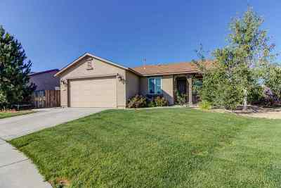 Reno Single Family Home Active/Pending-Loan: 9195 Raytheon Ct