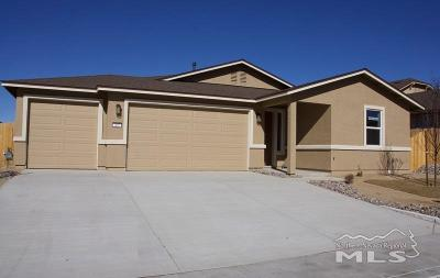Reno Single Family Home For Sale: 405 Scenic Ridge #Lot 90