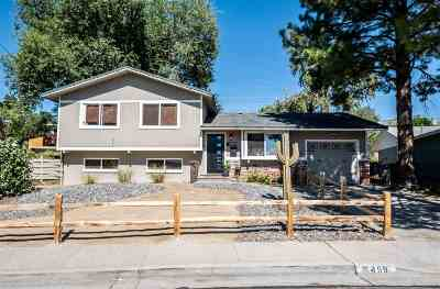 Washoe County Single Family Home Active/Pending-Loan: 1459 Surf Way