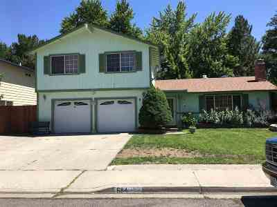 Sparks Single Family Home For Sale: 684 Marracco Dr