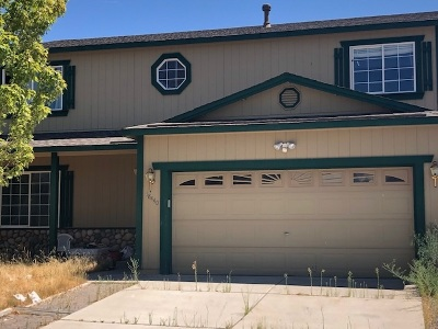Washoe County Single Family Home Auction: 18440 Datewood