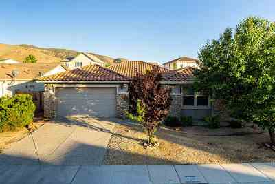 Washoe County Single Family Home New: 10652 Fire Poppy Circle