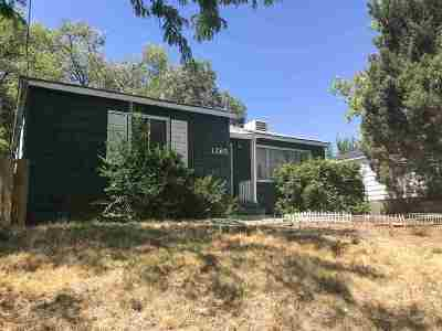 Reno Single Family Home New: 1265 Coleman Dr