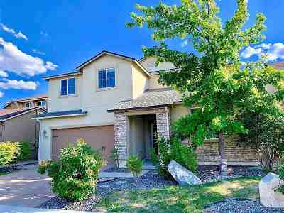 Washoe County Single Family Home New: 1980 Long Hollow Dr