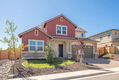 Washoe County Single Family Home New: 296 Endeavor Way #lot 261