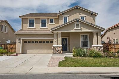 Washoe County Single Family Home New: 2398 Darby Rose Lane