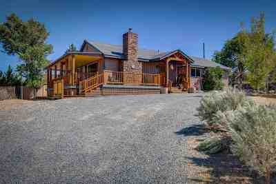 Carson City Single Family Home New: 6050 Mallow Rd.