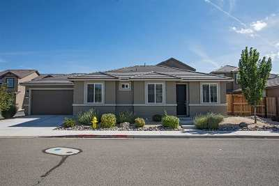 Washoe County Single Family Home New: 6743 Russian Thistle Drive