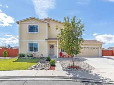 Reno Single Family Home Active/Pending-Loan: 18173 Spruce Lake Ct.