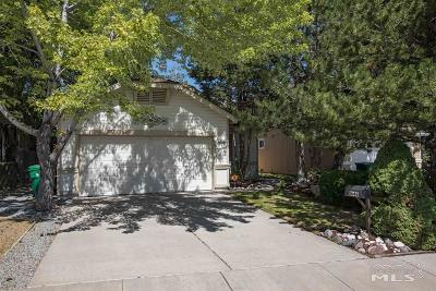 Reno Single Family Home New: 1648 Sierra Highlands Drive
