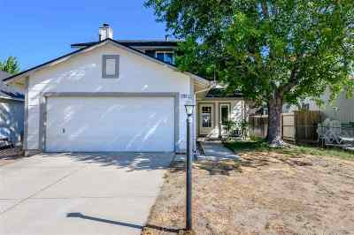 Carson City Single Family Home Active/Pending-Loan: 1762 Myles Way